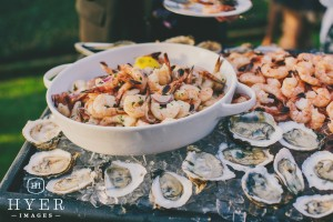 Wedding Catering Lowcountry Seafood Display